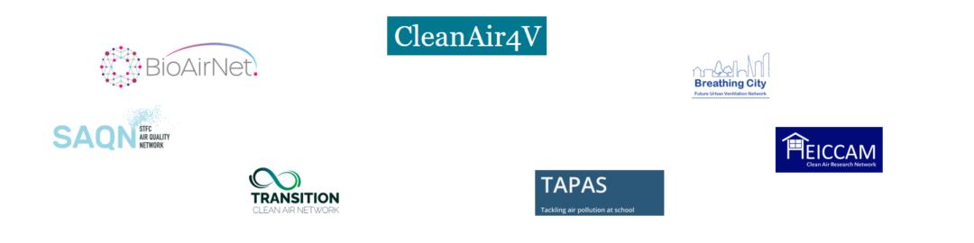 Clean air network logos