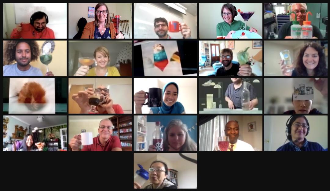 2021 Workshop participants celebrate the final session